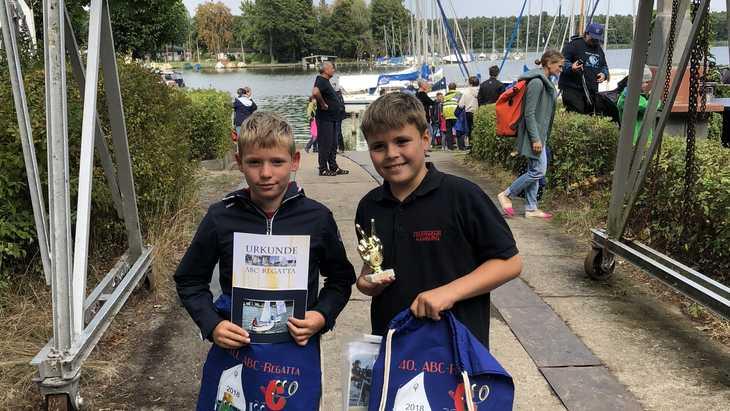 AdW-Segler erfolgreich bei der ABC-Regatta auf dem Langen See