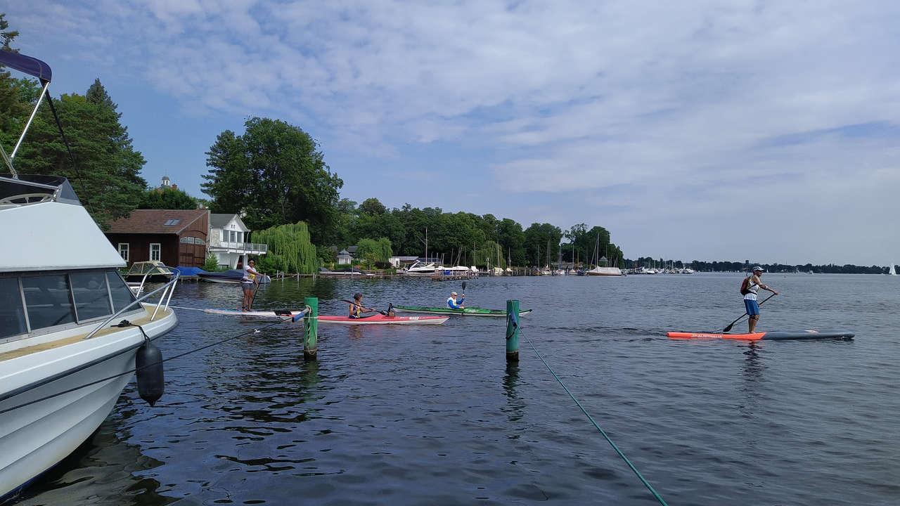 Berliner Kanu-Halbmarathonfahrt 2021