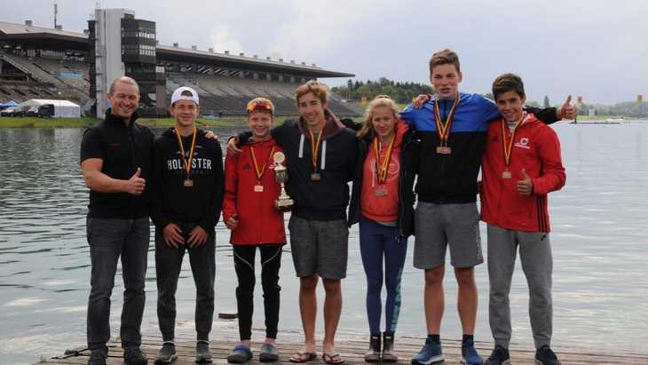 Dreimal Gold für unsere AdW-Kanuten bei den deutschen Meisterschaften