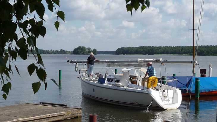 Urlaub mit unserem Boot Carina